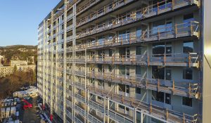 Fasader, balkongdører og vinduer
