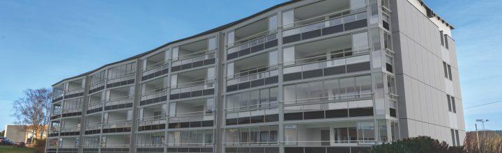Balkongentreprenøren har vunnet kontrakten som totalentreprenør på borettslag i Haugesund