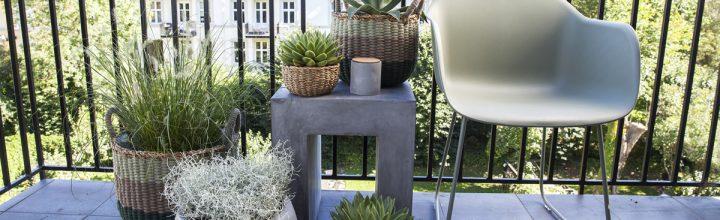 En balkong – tre stiler