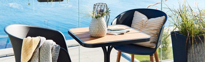 Skap en koselig og avslappet balkong